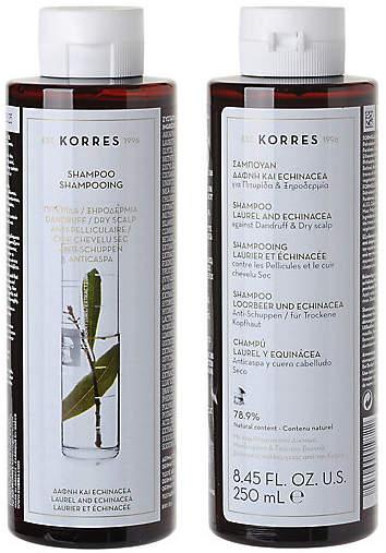 Korres (コレス) - [コレス ナチュラル プロダクト] シャンプー L&E ドライスカルプ